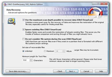 O&O DiskRecovery (infos et téléchargement)