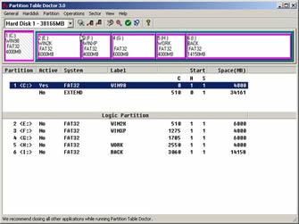 1 تحميل برنامج Partition Table Doctor 3.5