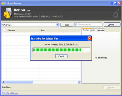 1 تحميل ريكوفا download Recuva 1.3  2