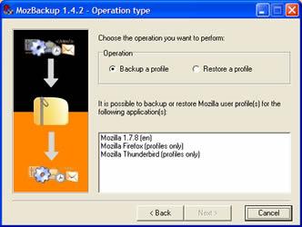 MozBackup (infos et téléchargement)