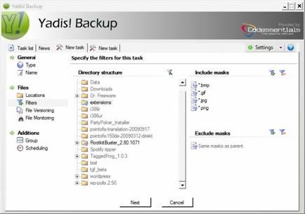 Yadis! Backup (infos et téléchargement)