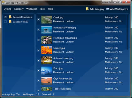 Fonds d 39 cran logiciel gratuit for Photo ecran logiciel