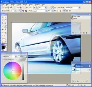 Paint.NET (infos et téléchargement)