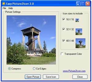 Easy Picture2Icon (infos et téléchargement)