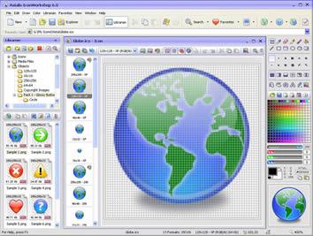 Axialis IconWorkshop (infos et téléchargement)