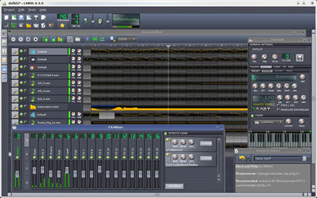 table de mixage windows xp