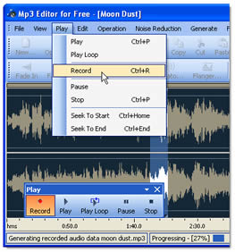 Mp3 Editor for Free (infos et téléchargement)
