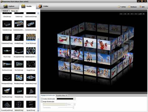 galeries photos 3d flash telecharger gratuit. Black Bedroom Furniture Sets. Home Design Ideas