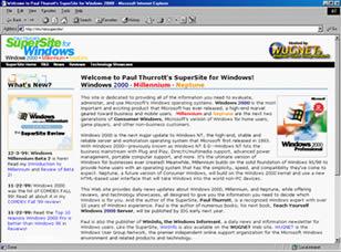 Internet Explorer 5 (infos et téléchargement)