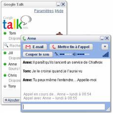 GTalk (infos et téléchargement)