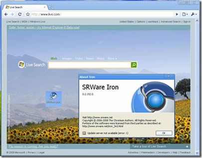 SRWare Iron (infos et téléchargement)