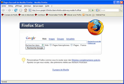 Firefox Portable (infos et téléchargement)