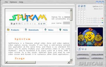 splitcam ancienne version 2009