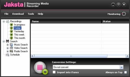 Jaksta Streaming Media Recorder (infos et téléchargement)