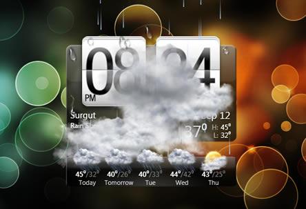 Plugin gadget logiciel gratuit - Horloge bureau windows 7 ...
