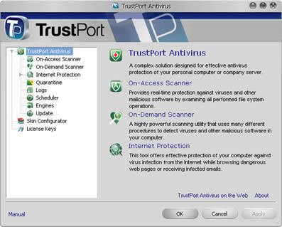 TrustPort Total Protection (infos et téléchargement)