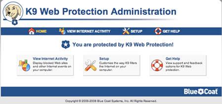 K9 Web Protection (infos et téléchargement)