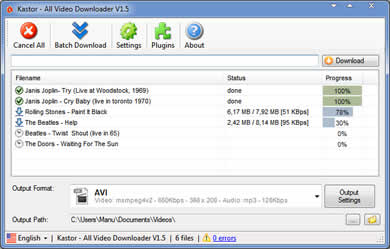 kastor all video downloader gratuit