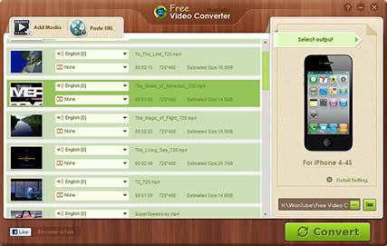 WonTube Free Video Converter (infos et téléchargement)