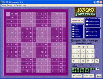 SU-DO-KU Imperator (infos et téléchargement)
