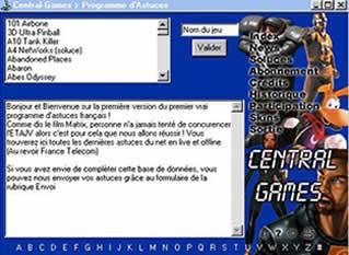 Central-Games Cheats (infos et téléchargement)