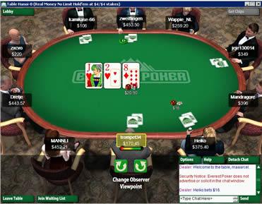 Everest Poker (infos et téléchargement)