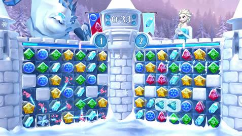 Frozen Fall : Snowball Fight