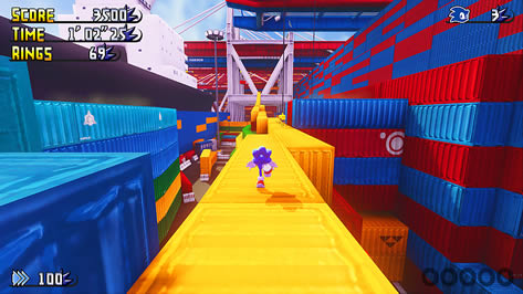 Sonic Lost Adventure - Havok