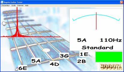 Bogota Guitar Tuner (infos et téléchargement)
