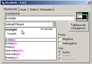 DicoVerb (infos et téléchargement)