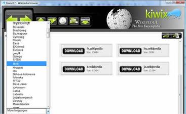 Kiwix (infos et téléchargement)
