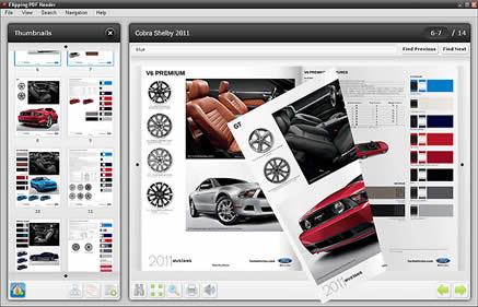 Flipping PDF Reader (infos et téléchargement)