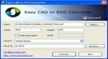 Easy CAD to SVG Converter