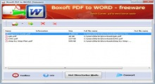 Boxoft PDF to Word