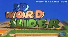 3D Word Slider