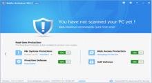 gratuitement baidu antivirus