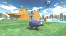 Sanix the Edgehog Adventure 2DX