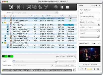 programme ipod vers mac gratuit